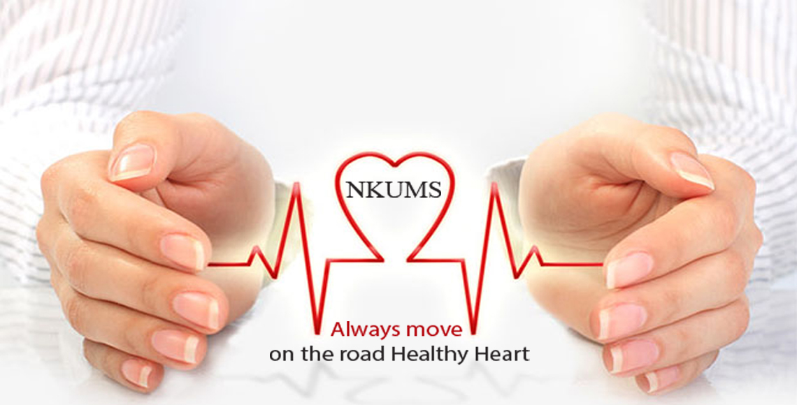 always move on thr road healthy heart